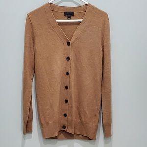J. Crew cashmere wool blend XS